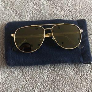 Le specs aviator sunglasses